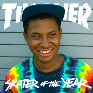 ishod wair skateboarder skater of the year 2013 : portrait