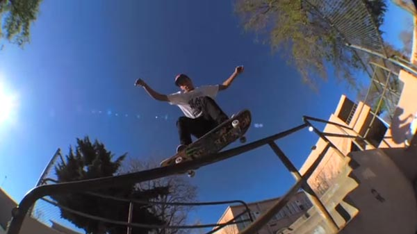 Nyjah Huston skateboarder : crook
