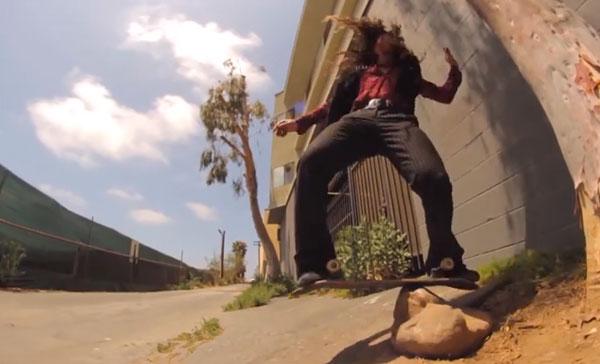 skateboarder Richie Jakson : revoluion trick