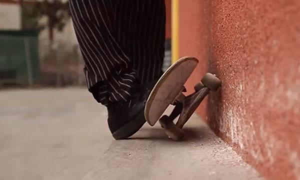 skateboarder Richie Jakson : wheeling manuel new
