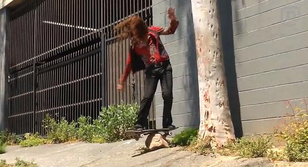 skateboarder Richie Jakson : ollie revolution