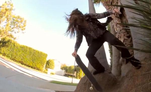 skateboarder Richie Jakson : ollie step