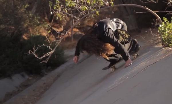 skateboarder Richie Jakson : slide