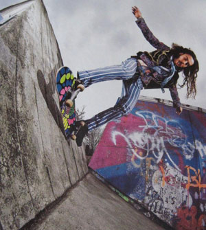 skateboarder Richie Jakson : portrait 2