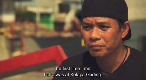 video skate POL skateboarding en Indonesie : pro skaters