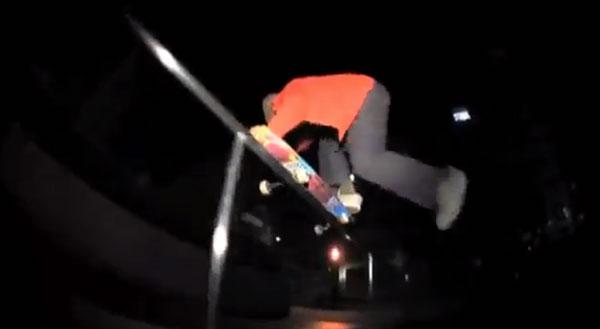 gou miyagi skateboarder : grind 50/50 one foot