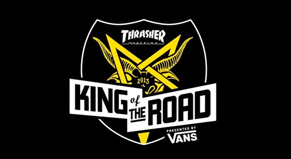 king of the road 2013 : Titre gros