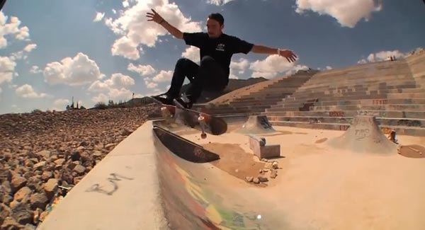 king of the road 2013 : 360° flip to nose plant