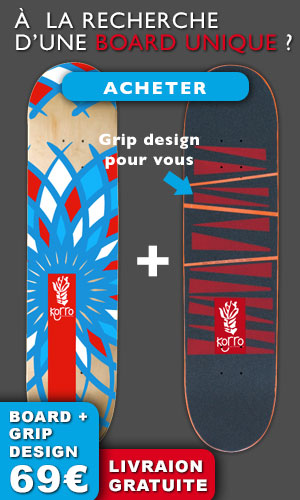 Board skate + grip personnalisé