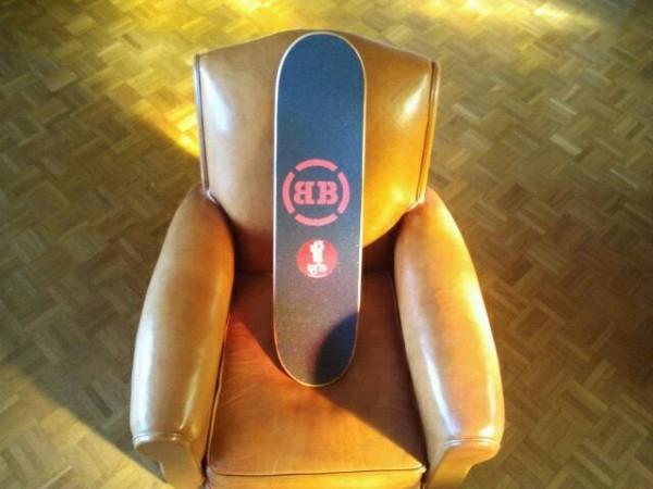 Korro Skateboards : grip personnalise BB : chill