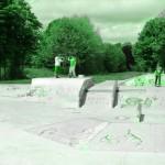 Skatepark de Magny Les Hameaux - Yvelines 78 : quarter