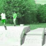 Skatepark de Magny Les Hameaux - Yvelines 78 : quarter grand