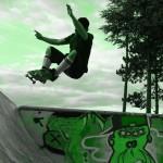 Skatepark de Magny Les Hameaux - Yvelines 78 : aerial
