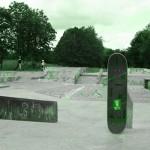 Skatepark de Magny Les Hameaux - Yvelines 78 : air de street : barre à lipslide