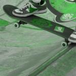 Skatepark de Magny Les Hameaux - Yvelines 78 : tailslide : bowl béton