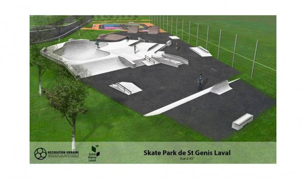 skatepark de saint genis laval abcskate. Black Bedroom Furniture Sets. Home Design Ideas