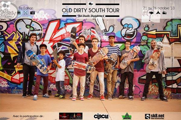 stage skateboard sud france : photo groupe skaters