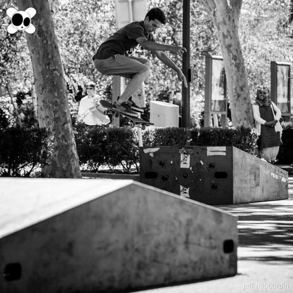 Contest skate kill the curb 2014 : pop varial (crédit : Jeff Habourdin)