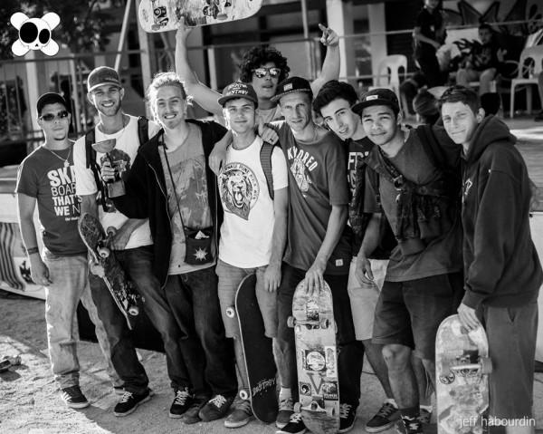 Contest skate kill the curb 2014 : skateboarders 2 (crédit : Jeff Habourdin)