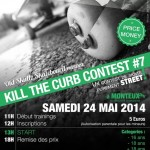 Contest skate kill the curb 2014 : l'affiche