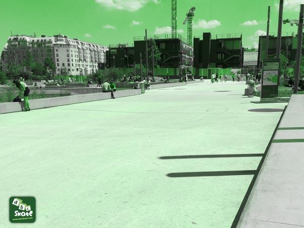 spot de skate au forum des halles paris 75001 abcskate. Black Bedroom Furniture Sets. Home Design Ideas