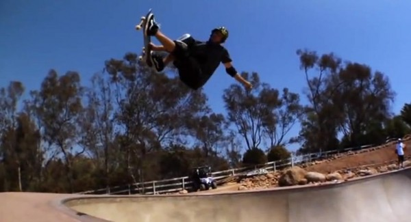 Bucky Lasek bowl rider : Sad air