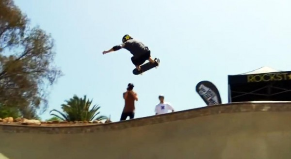 Bucky Lasek bowl rider nose bone