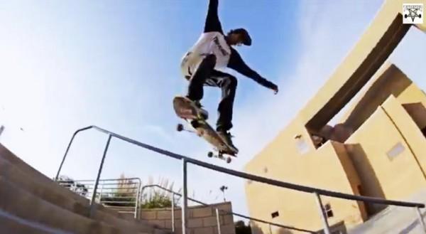 skater Ryan Decenzo video part : flip front to lipslide