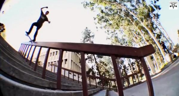 skater Ryan Decenzo video part : crook frontside