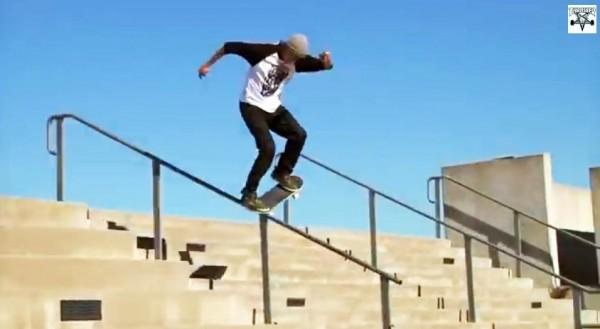 skater Ryan Decenzo video part : switch tailslide frontside