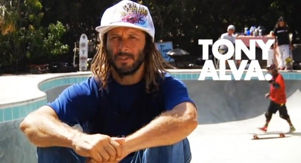 Tony Alva bowl rider