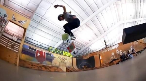 Ollie TreFlip, Ollie varial 360°