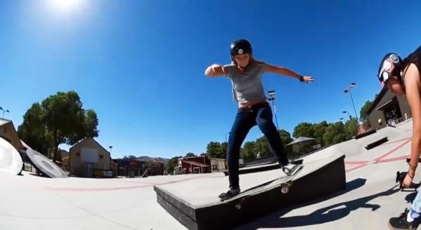Ollie varial to tailslide frontside