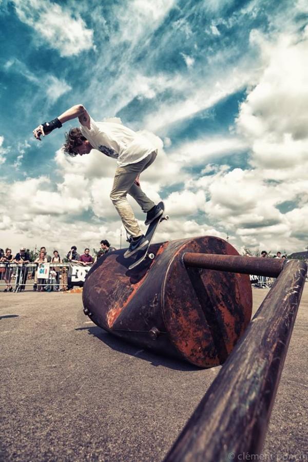 madenom skateboard : sculture module de skate