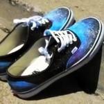 Personnaliser vos chaussures Vans en Galaxy