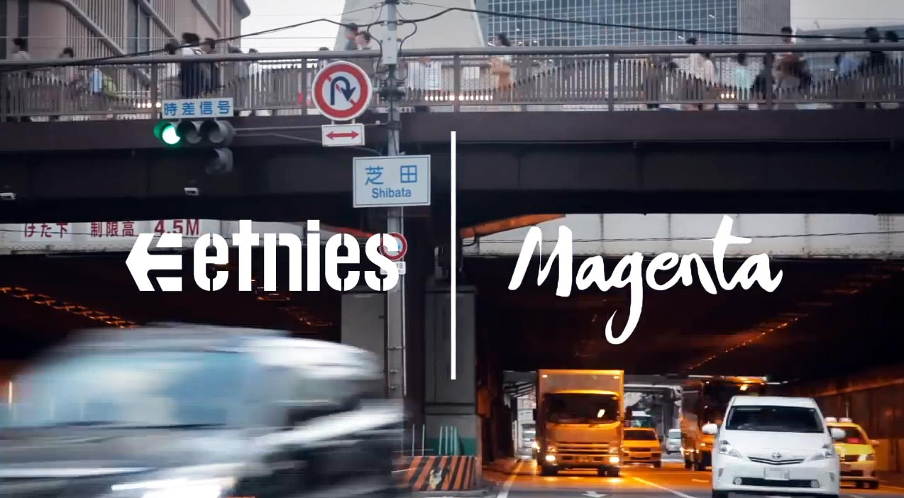 video skate Osaka nights etnies & Magenta Collaboration skate shoes