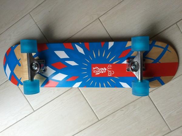 Skateboard cruser personnalise Korro Skatebaords