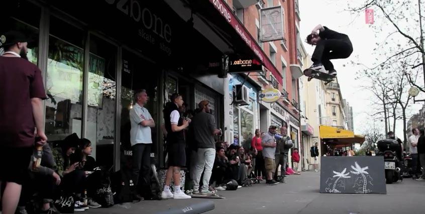 Exposition skate de Sam Parteix à Nozbone Paris avec Vans