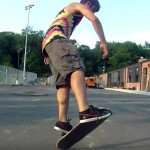 Freestyle skateboard par Pete BETTI