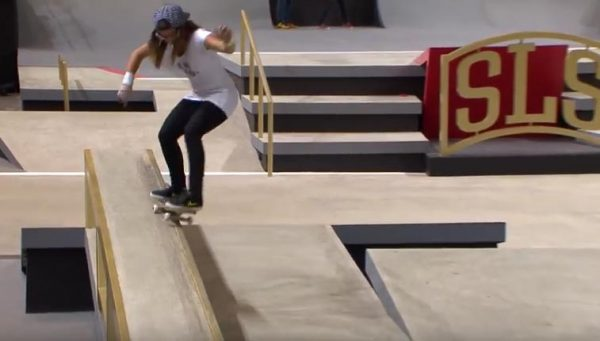 Street League Skateboarding fille
