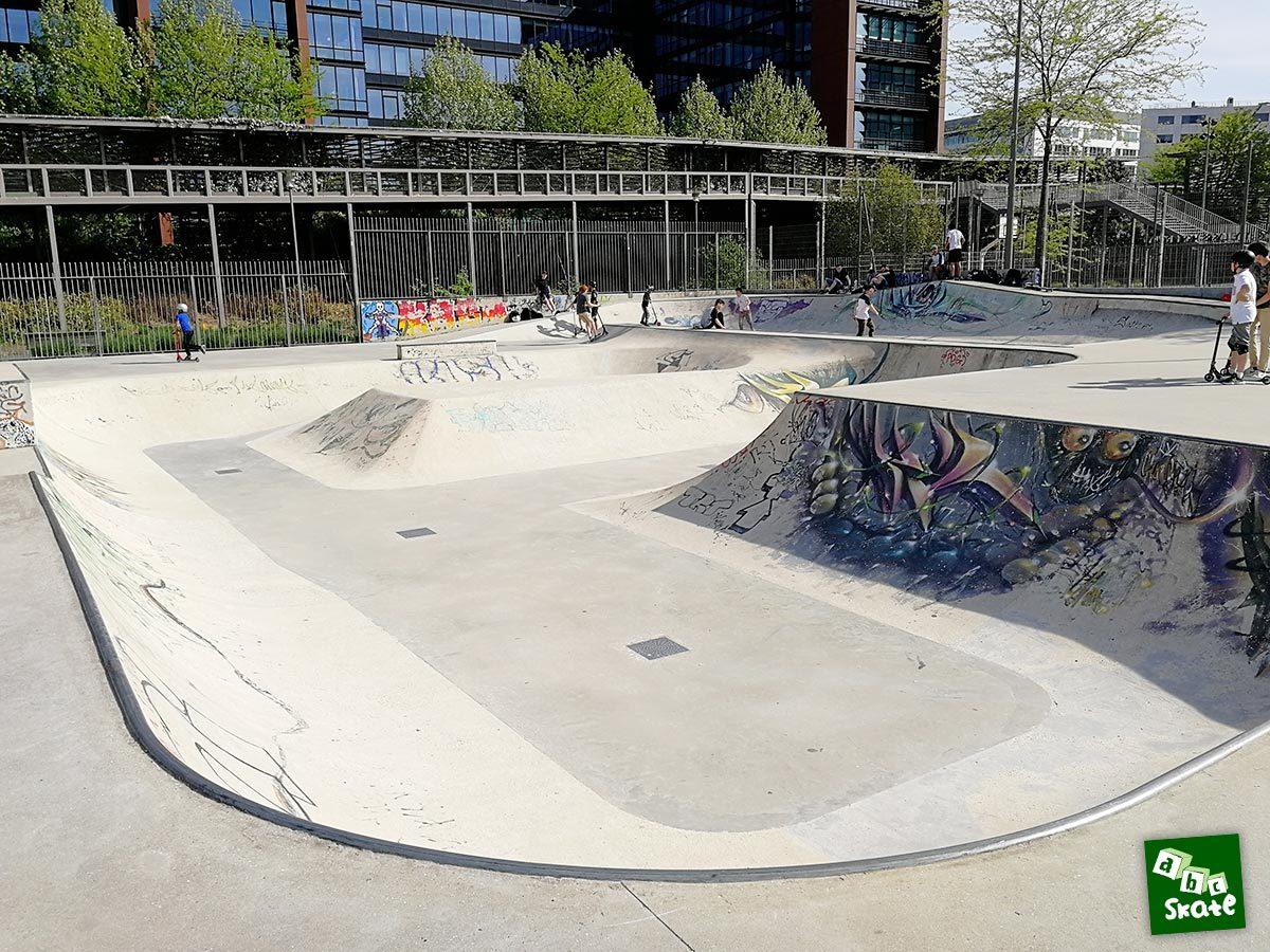 Skatepark Rueil-Malmaison : bowl