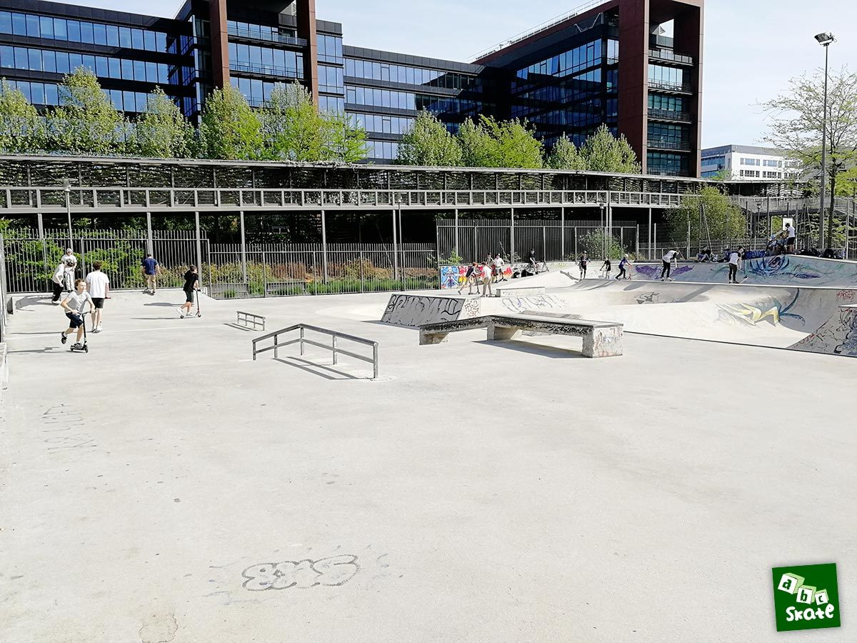 Skatepark Rueil-Malmaison : partie street