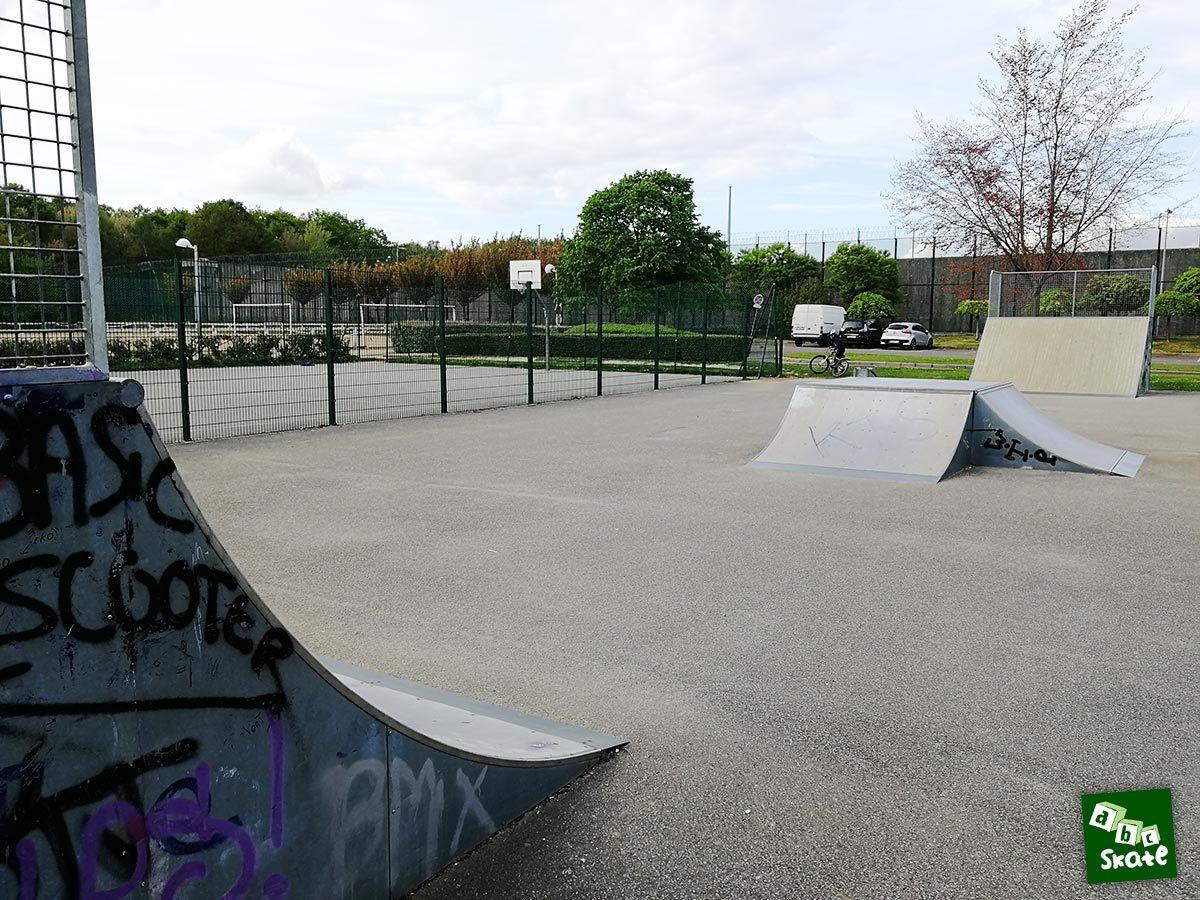 skatepark Bois d'Arcy : quarter