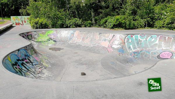 Bowl de la Courrouze à Rennes