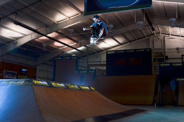Woodward Camp : rampe de skate