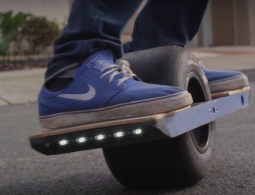 Le skateboard électrique à une roue