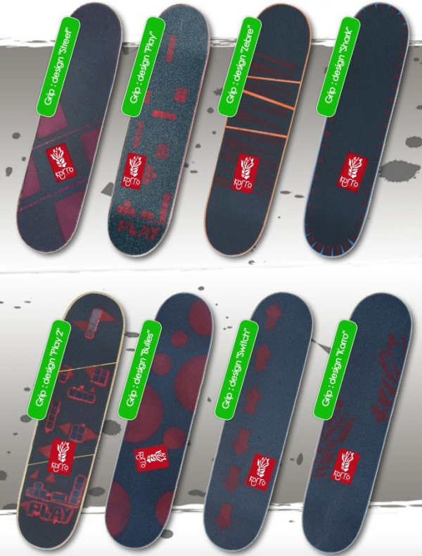 Grips personnalisés Korro Skateboards