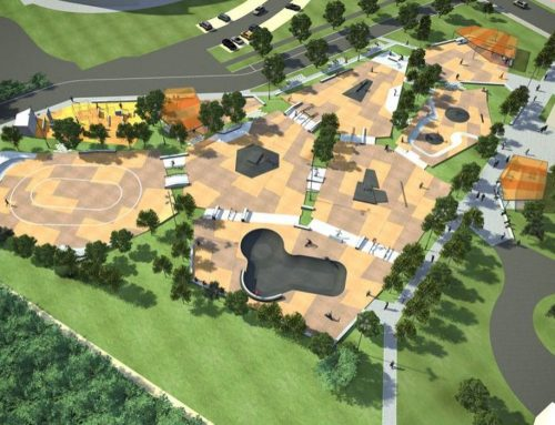 Le plus grand skatepark de Belgique en construction