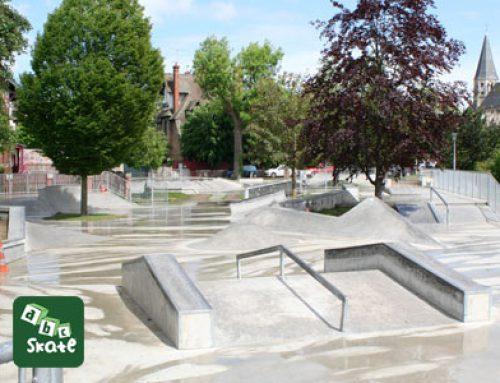 Le skatepark de Poissy, Yvelines : 1650 m² pour rider