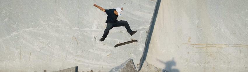 AbcSkate-skate-skateboard-Ancient-Stone-Public-Skatespot-with-Torey-Pudwill-Chris-Haslam-&-Crew-LARVIKITE-LINES